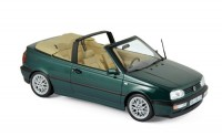 1:18 VW Golf III Cabriolet 1995 Green Metallic