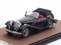 1:43 MERCEDES-BENZ 290A Cabriolet W18 (открытый) 1936 Black