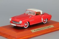 1:43 WARTBURG 313/1 Sport 1957 Red/White