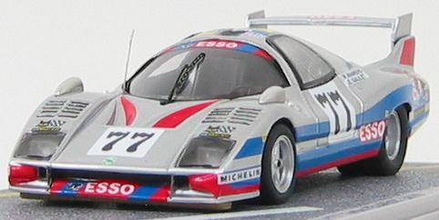 1:43 Peugeot WM P77 #77 LM 1978