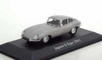 1:43 JAQUAR E-Type Coupe 1961 Silver