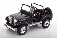 1:18 JEEP CJ-7 Laredo 4х4 1976 Black