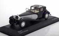 1:43 BUGATTI Type 41 Royale 1928 Black/Silver