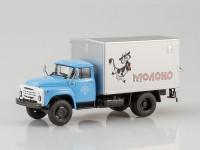 1:43 Фургон с грузоподъёмным бортом У-165 Молоко (на шасси ЗИЛ-130)