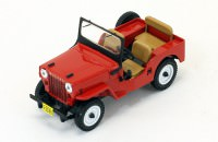 1:43 WILLYS JEEP CJ3B 4х4 1953 Red