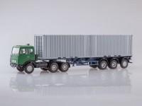 1:43 МАЗ-6422 с полуприцепом-контейнеровозом МАЗ-938920