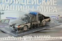 1:43 # 72 SAAB 900 Turbo - Полиция Финляндии (журнальная серия)