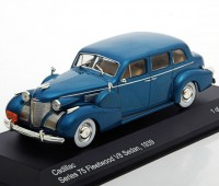 1:43 CADILLAC Series 75 Fleetwood V8 Sedan 1939 Metallic Turquois