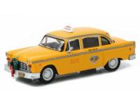 """1:43 Checker Taxi Cab 1978 (из к/ф """"Новая рождественская сказка"""")"""