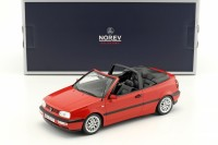1:18 VW Golf III Cabriolet 1995 Red