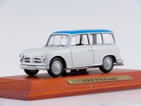 1:43 AWZ P70 Kombi 1958 White/Blue