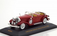 1:43 CHRYSLER Imperial Le Baron Phaeton 1933 Red