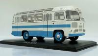 1:43 Павловский автобус 672 (бело-голубой)