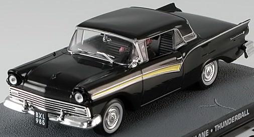 "1:43 Ford Fairlane Skyliner из к.ф. ""Thunderball"" 1965 (black)"