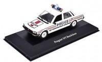 """1:43 PEUGEOT 505 V6 Danielson """"Police'' (полиция Франции) 1983"""