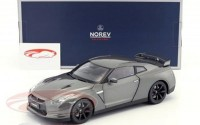 1:18 NISSAN GT-R (R-35) 2008 Dark Grey Metallic