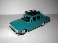1:43 Москвич-408 зеленый с багажником