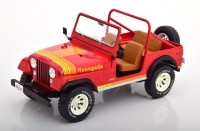 1:18 JEEP CJ-7 Renegade 4х4 1976 Red