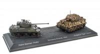 """1:72 набор M4A4 """"Sherman Firefly"""" и Pz.Kpfw. VI """"Tiger"""" I Ausf. E Нормандия Франция 1944"""