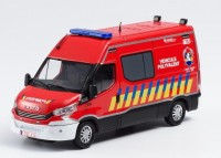 "1:43 IVECO DAILY ""Pompiers véhicule polyvalent"" (пожарный Бельгия) 2019"