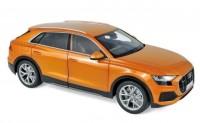 1:18 AUDI Q8 кроссовер 4х4 2018 Orange Metallic