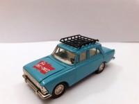 1:43 Москвич-408 с багажником с тамповкой 1917-2017