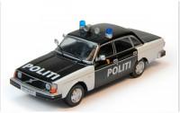 1:43 # 73 VOLVO 244 Полиция Норвегии (журнальная серия)