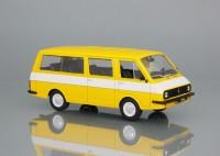 1:43 # 26 РАФ-2203 «Латвия» - жёлтый с белой полосой