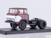 1:43 КАЗ-608 (четыре фары) седельный тягач