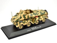 1:43 бронеавтомобиль Sd.Kfz.233 2. Pz.Division Falaise Франция 1944