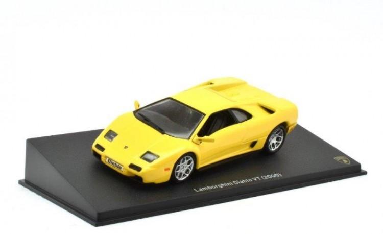 1:43 LAMBORGHINI Diablo VT 2000 Yellow