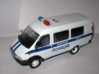 1:43 Горький-3321 Полиция (промежуточная решетка)