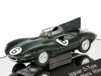 1:43 Jaguar D-Type #6 Winner LM 1955 J.M.Hawtorn - I.L.Bueb [всё открывается]
