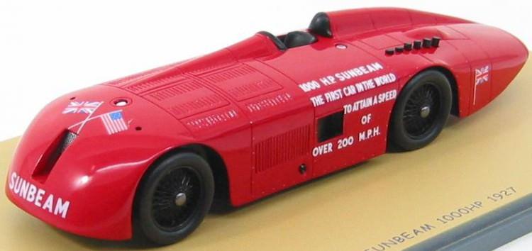 1:43 Sunbeam 1000 HP Record car 1927