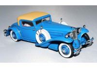 1:43 Cord L-29 Coupe 1929 by Hayes for Count Alexis de Sakhnoffsky chassis 2927005 (two-tone blue)