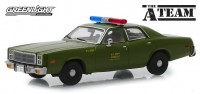 "1:43 PLYMOUTH Fury ""U.S. Army Police"" 1977 (из телесериала 'Команда А"")"