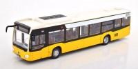 "1:43 автобус MERCEDES-BENZ Citaro ""Stuttgart"" 2011 Yellow/Black"