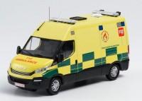 """1:43 IVECO DAILY """"Ambulance Zone de Secours de Wallonie Picarde"""" (спасатели Бельгия) 2019"""