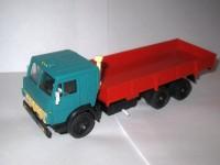 1:43 Камский грузовик 53212 бортовой (зеленая кабина)