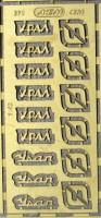 1:43 набор фототравления шильдики уральский грузовик 4320 + 375