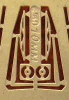 1:43 Фототравление дворники 10мм латунь