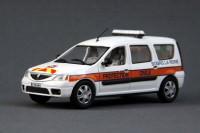 1:43 DACIA Logan MCV Protection Civile (служба спасения Франции) 2012