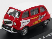 "1:43 FIAT 750 MULTIPLA ""ABARTH"" 1960 Red/White"