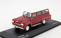 1:43 CHEVROLET Amazona 4х4 1963 Dark Red/White