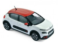 1:43 CITROËN C3 2016 Banquise White/Aden Red