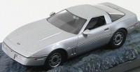 """1:43 Chevrolet Corvette """"A View to a Kill"""" 1983 Silver"""