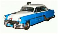 1:43 # 75 PONTIAC Chieftain Полиция Кубы (1954) (журнальная серия)