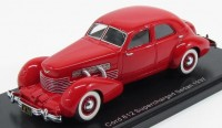 1:43 CORD 812 Supercharged Sedan 1937 Red