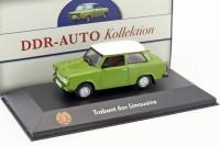 1:43 TRABANT 601 Limousine 1980 Green/White