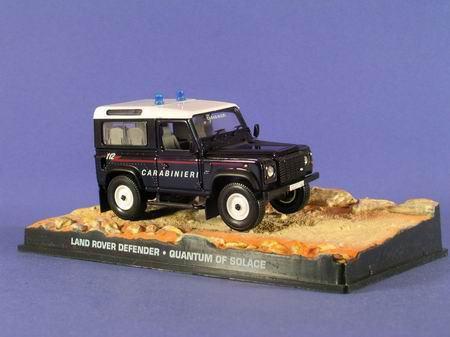 """1:43 Land Rover Defender из к.ф. """"Quantum Of Solace"""" 2008"""